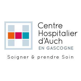 Logo du centre hospitalier d'Auch