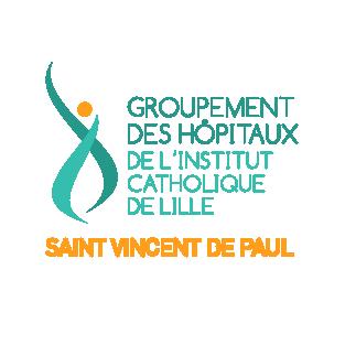 Logo du groupe des hôpitaux de Lille
