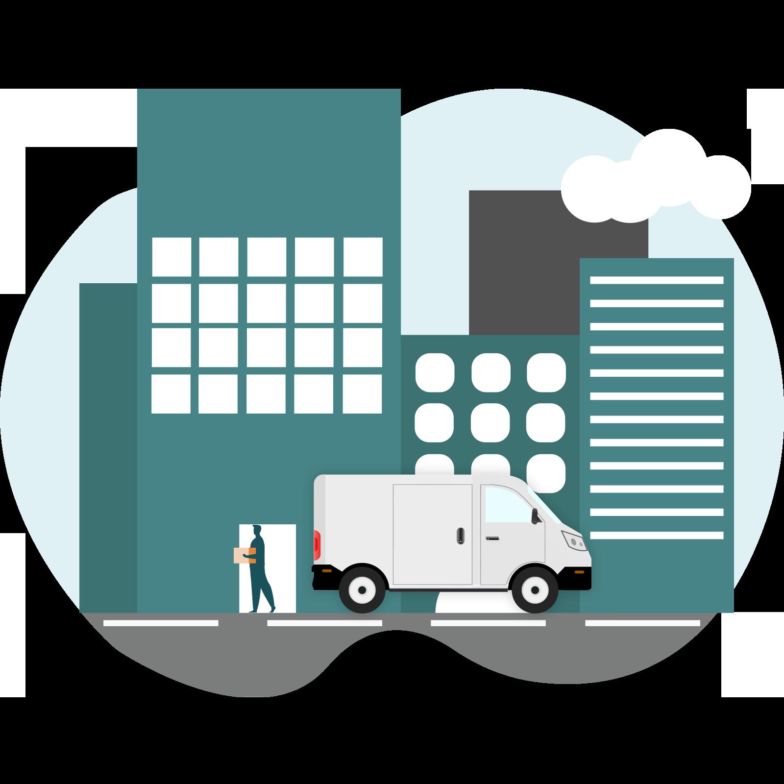 Livraison de produits et services dans les centres de soins