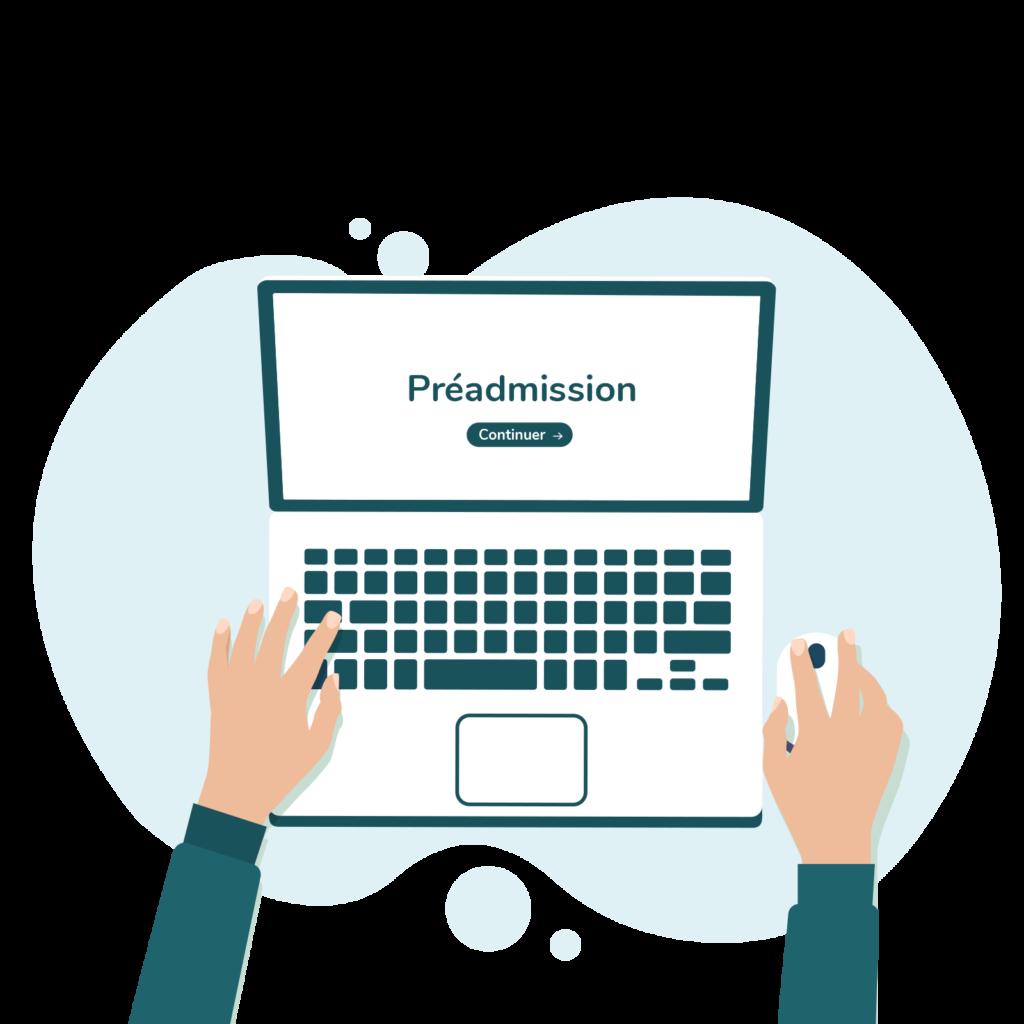 Solution de pré administration en ligne