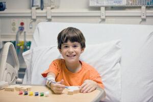 Un patient hospitalisé